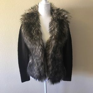 Sweaters - Like new Ecote Urban Outfitters Faux Fur cardigan